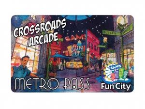 Sams Fun City Metro Pass