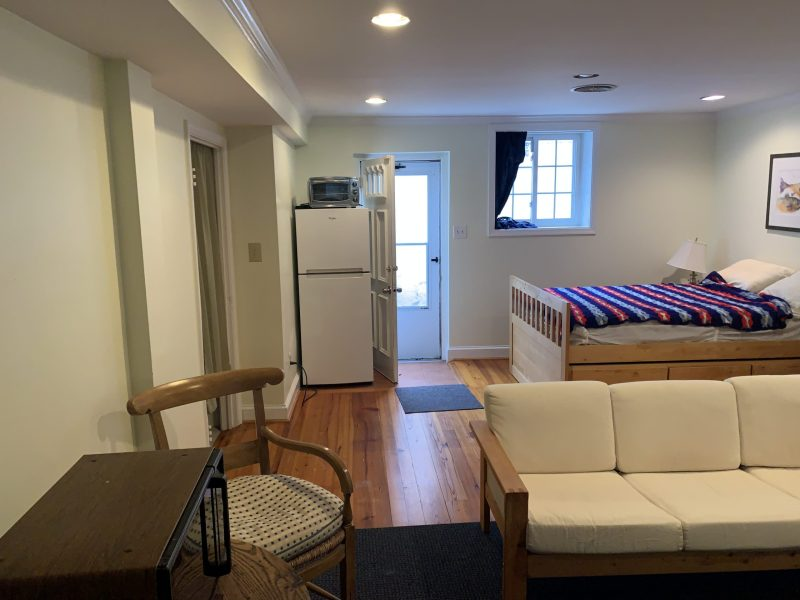 Furnished lower level, pvt entry, bathroom, laundry, WiFi, fios