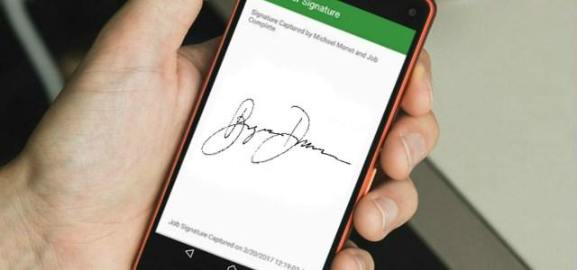 sam mobile signature