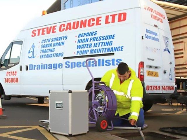Steve Caunce Van