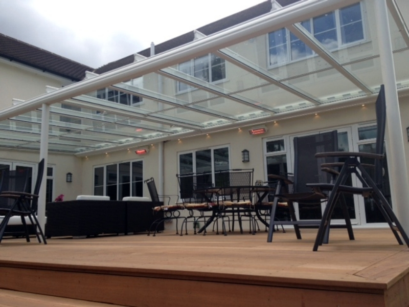 Fixed Roof Terrace Covers from Samson Awnings  Terrace Covers