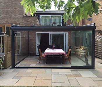 Outdoor Room Northamptonshire Samson Awnings