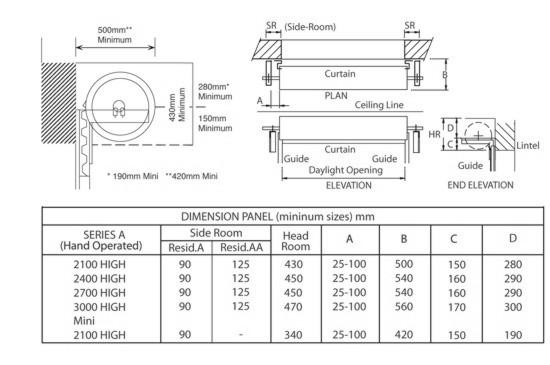 Gliderol Roller Garage Door Measuring and Ordering
