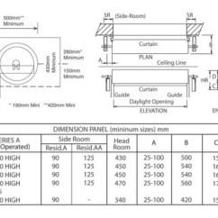 Roller Door Motor Wiring Diagram Directv Swm 16 Gliderol Garage Measuring And Ordering - Measurements Samson Doors