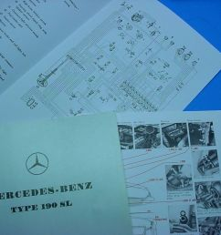 1 owner s manual type 190 sl 1955 63 part ql 6510 9020 02 1 parts catalog type 190 sl 1959 part 6510 4433 13 important note this literature is not  [ 1024 x 768 Pixel ]