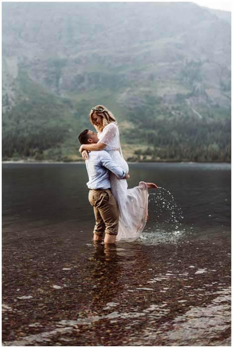 Glacier National Park Elopement Photographer, adventure elopement photographer
