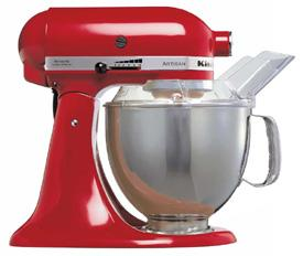 kitchen aid products composter kitchenaid 5ksm150pse artisan red for 220 volts 240 multisystem electroni