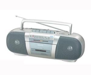 SANYO MX250F Portable Radio Cassette Recorder for 110240