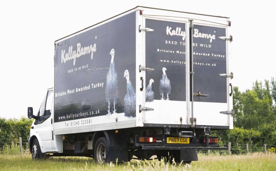 Kelly Bronze delivery