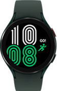44mm green Galaxy Watch4 with green strap
