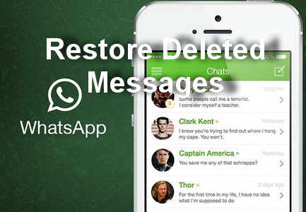 How to restore deleted WhatsApp messages in Samsung Galaxy S6