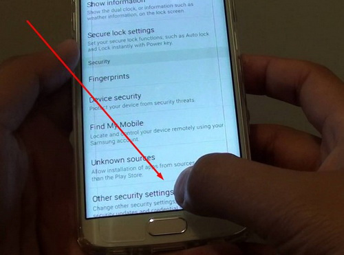 Security Policy Updates for Samsung Galaxy S6