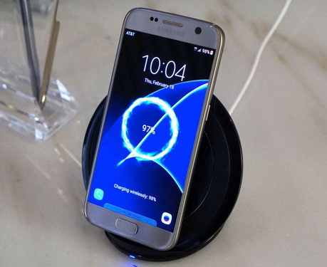 Wireless Charging Samsung Galaxy S7