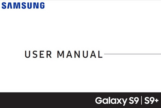 Samsung Galaxy S9 Plus Manual T-Mobile