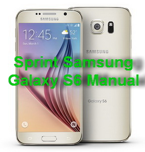 Sprint Samsung Galaxy S6 Manual