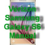 Verizon Samsung Galaxy S6 Manual / User Guide PDF Download