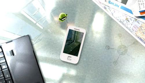 galaxy player ad - Samsung Galaxy 50: o iPod dos Androids