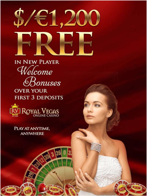 Royal Vegas Mobile Games Bonus