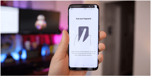 Samsung Galaxy S8 tips- Enable finger print
