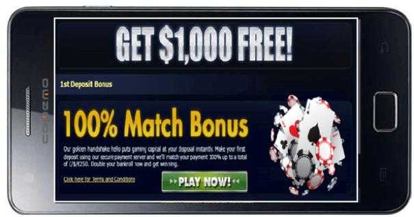 Spin Palace bonus