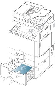 Bourrage Papier Samsung Clx-3180 Series Manual