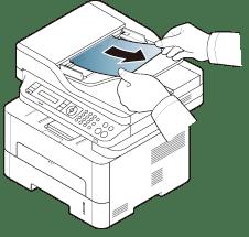 Clearing original document jams
