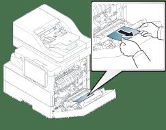 Solución de atascos de papel