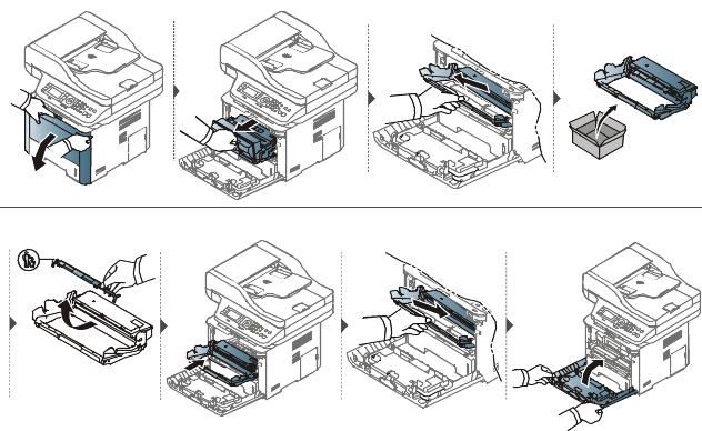Sustitución de la unidad de imágenes