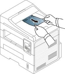 Solución de atascos de documentos originales