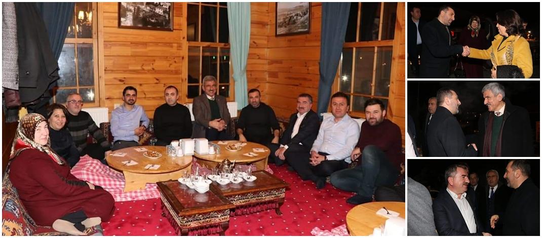 Başkanlar Tirit Evinde İstişarede