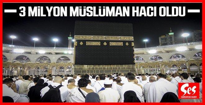 80 Bin Türk Kutsal Topraklarda Hacı Oldu