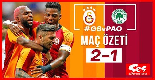 Galatasaray 2-1 Panathinaikos maç özeti