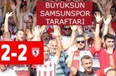 BAK arıza çıkarttı! Bak spor-Yılport Samsunspor 2 -2