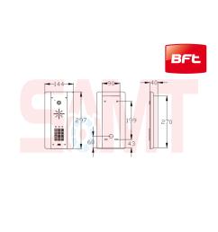 bft cellcom prime home intercom system [ 1600 x 1600 Pixel ]