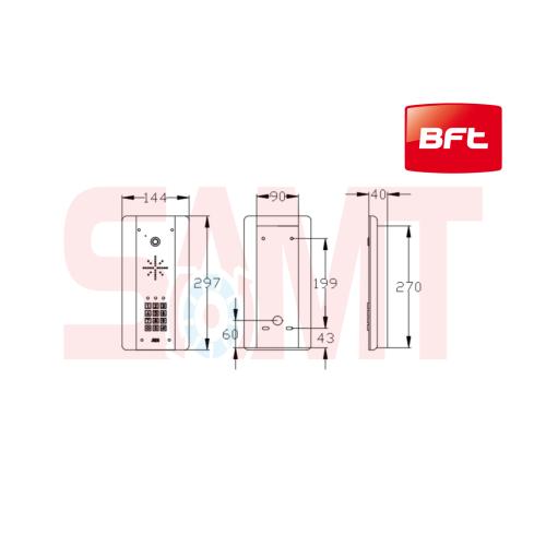 small resolution of bft cellcom prime home intercom system