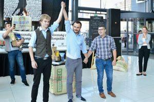Prvé miesto na Slovenskej Aeropress Kompetišn 2014 v Nitre