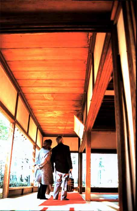 The Blood Ceilings of Kyoto  memories of Toyotomi