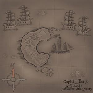 Illustrated Cartoon Map