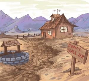 Australian Outback Illustration