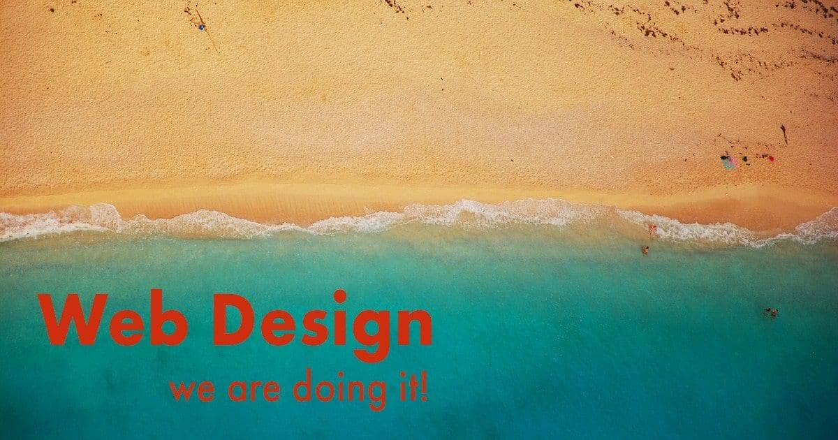 Web Design - We are doing it