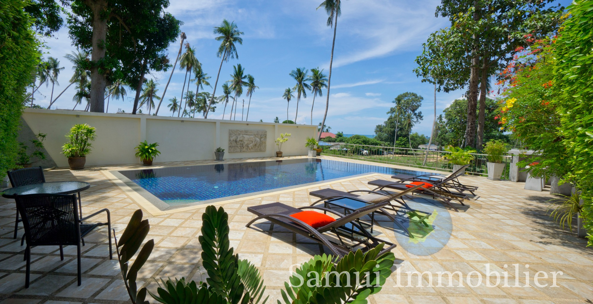 Villa 4 Bungalows For Sale 7 Bedrooms Lamai Koh