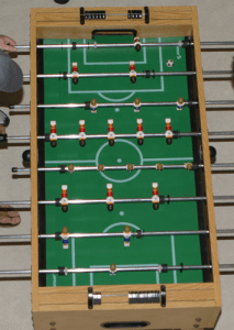 """Some Brazilian players play """"futbol de salao.""""  Small, challenging environments can improve skills.  Work it!"""