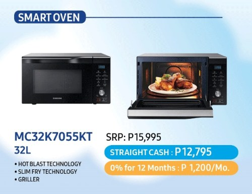 Samsung Dream Home Deals - Smart Oven