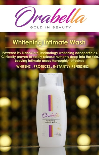 OraBella Gold in Beauty Intimate Wash