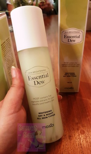 MOSP Philippines Skin Brightening Essential Dew