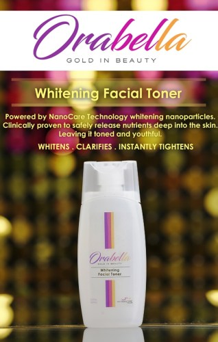 OraBella Gold in Beauty Toner