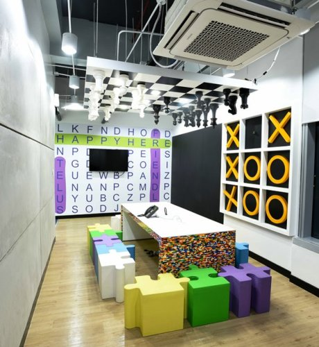 TELUS International McKinley West Board Game Room