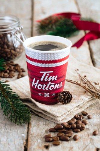 Tim Hortons Merry Berry Hot Chocolate
