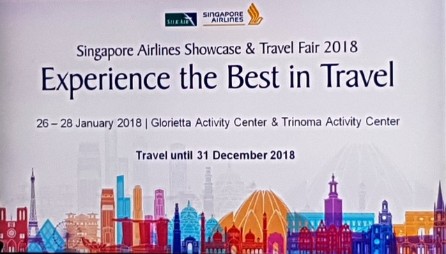 Singapore Airlines' Showcase and Travel Fair 2018