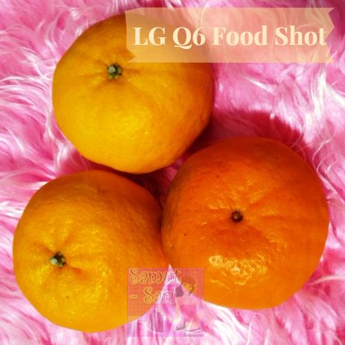 LG Q6 Food Shot